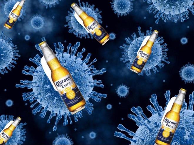 Đừng nhầm lẫn giữa virus Corana và dòng bia Corona nổi tiếng của Mexico