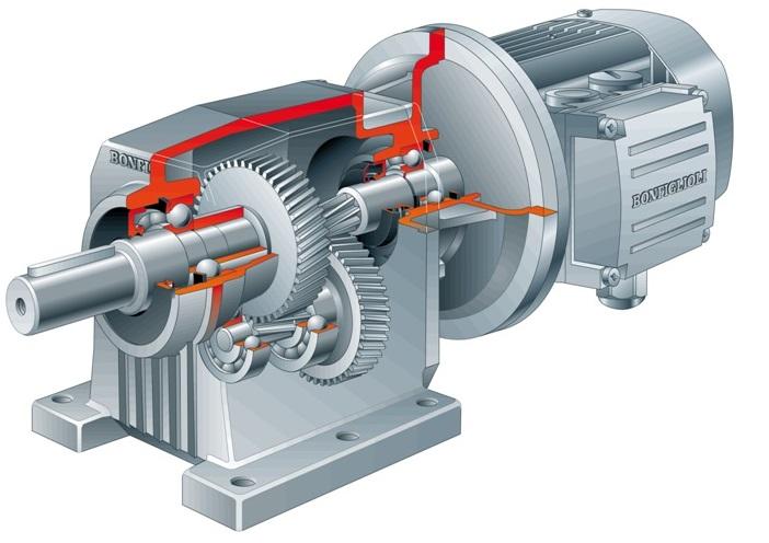 Loại C - Động cơ giảm tốc trục thẳng Bonfiglioli