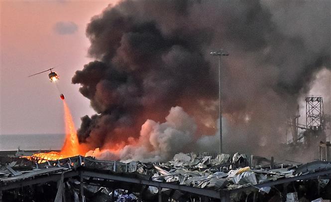 Vụ nổ kinh hoàng tại Liban: Cảnh tượng như ngày tận thế