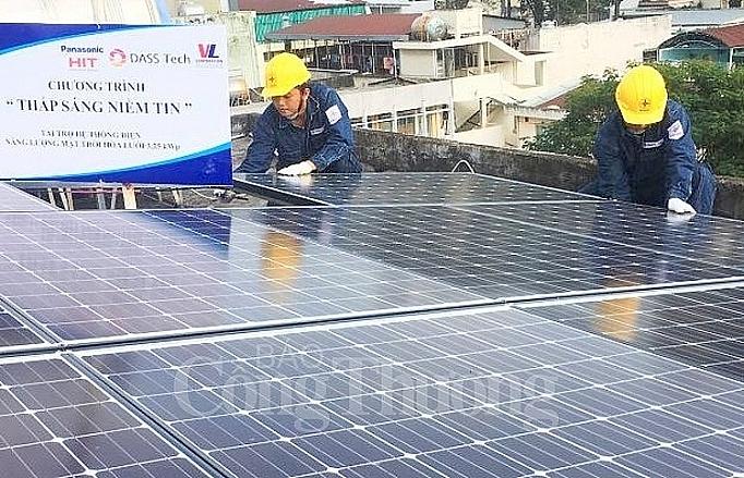 Lắp điện mặt trời tại TP. Hồ Chí Minh không lo truyền tải