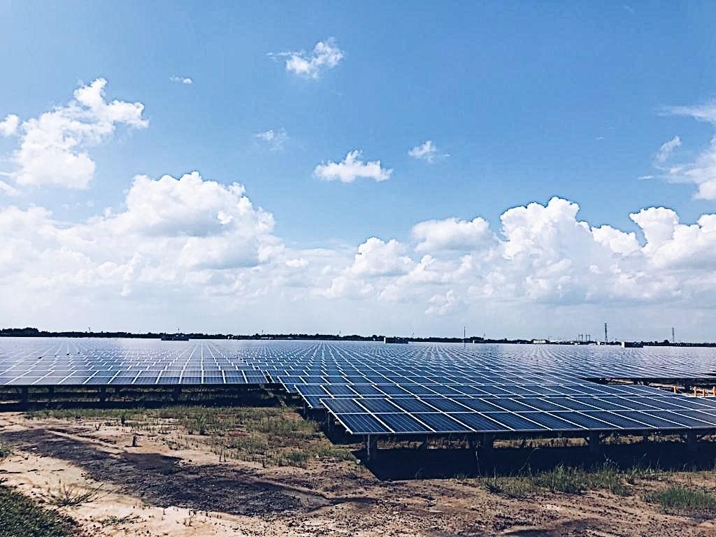 Các dự án điện mặt trời thu hút vốn ngoại