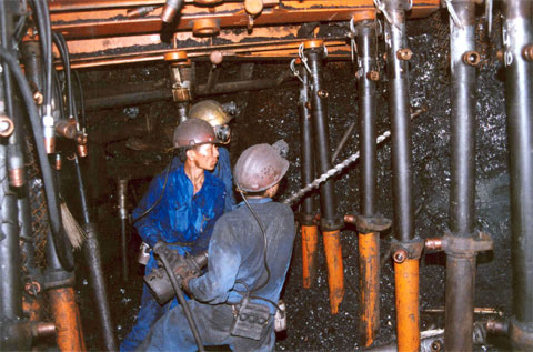 Coal mining industry project
